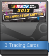 NASCAR the Game 2013 Booster Pack