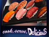 Cook, Serve, Delicious! - Tray of Sushi