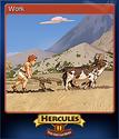 12 Labours of Hercules II The Cretan Bull Card 1