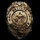 Face Noir Badge 4