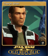 STAR WARS The Old Republic Card 6
