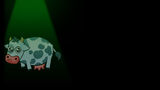 Beware Planet Earth Background Cow Abduction