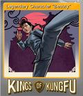 Kings of Kung Fu Foil 6