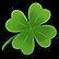 Secret of the Magic Crystals Emoticon clover
