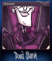 Don't Starve Card 1