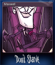 Don't Starve - Maxwell