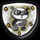 Super Panda Adventures Badge Foil Panda of Awesomeness