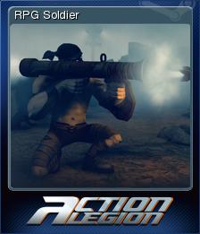 Action Legion - RPG Soldier