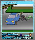 Car Washer Summer of the Ninja Foil 5