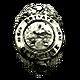 Face Noir Badge 5