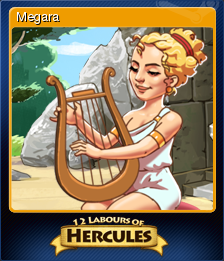 12 Labours of Hercules - Megara