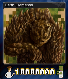 10,000,000 - Earth Elemental