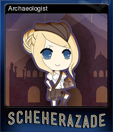 1931: Scheherazade at the Library of Pergamum - Archaeologist