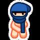 10 Second Ninja Badge 2
