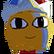Spark the Electric Jester Emoticon CGspruk