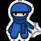 10 Second Ninja Badge 4