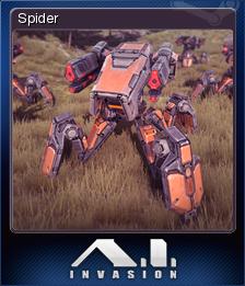 A.I. Invasion - Spider
