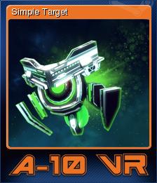 A-10 VR - Simple Target