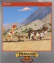 12 Labours of Hercules II The Cretan Bull Foil 1