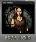 Face Noir Foil 2