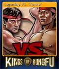 Kings of Kung Fu Card 1