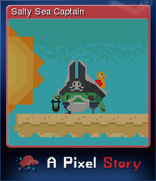 A Pixel Story - Salty Sea Captain