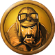 BOMB Who let the dogfight Badge 5