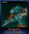 Heroes & Legends Conquerors of Kolhar Card 5