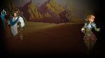 Heroes & Legends Conquerors of Kolhar Background Allen & Yaha