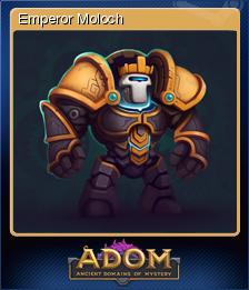 ADOM (Ancient Domains Of Mystery) - Emperor Moloch
