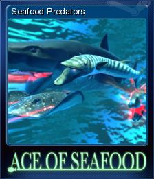 Ace of Seafood - Seafood Predators