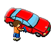 Car Washer Summer of the Ninja Badge 4