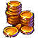 Northmark Hour of the Wolf Emoticon WGoldCoins
