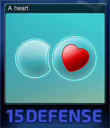 15 Defense - A heart