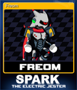 Spark the Electric Jester Card 4