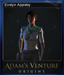 Adam's Venture: Origins - Evelyn Appleby