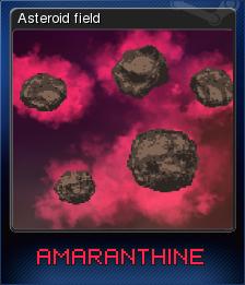 Amaranthine - Asteroid field