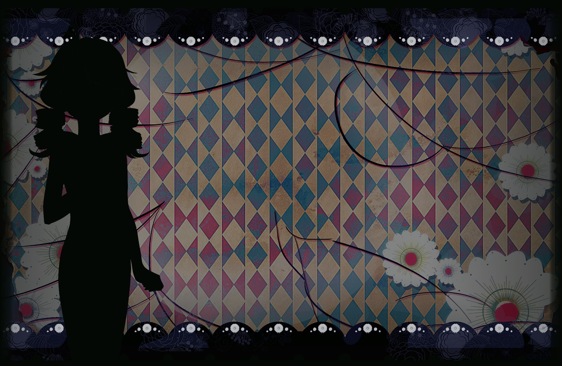Long Live The Queen Background Pattern Silhouette.jpg