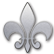Saints Row IV Emoticon sr4fleurdelis