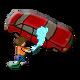 Car Washer Summer of the Ninja Badge 1