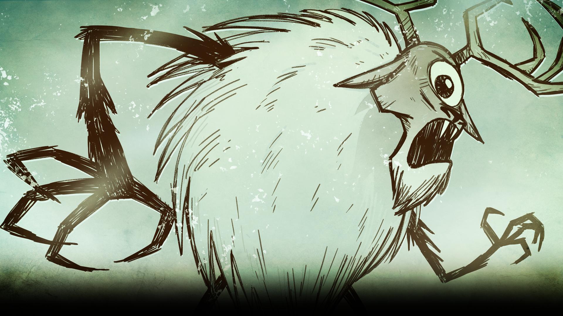 Don't Starve Background Deerclops.png