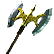 Dragons and Titans Emoticon battleaxe