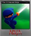 10 Second Ninja Foil 1