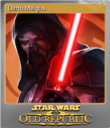 STAR WARS The Old Republic Foil 5