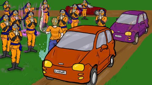 Car Washer Summer of the Ninja Artwork 3.jpg