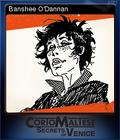 Corto Maltese Secrets of Venice Card 4
