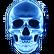 Din's Curse Emoticon iskull