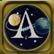 Lunar Flight Emoticon apollo