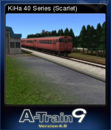 A-Train 9 V4.0 : Japan Rail Simulator - KiHa 40 Series (Scarlet)