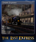 The Last Express Gold Edition Card 5